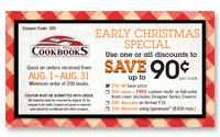 Early Christmas Special Coupon