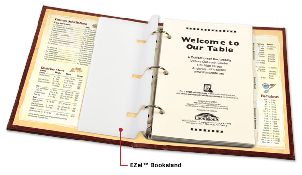 EZel™ stored in cookbook