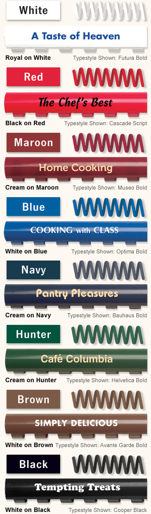 Comb & Coil Colors