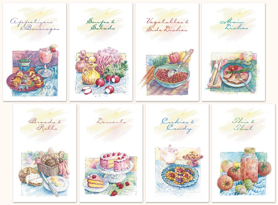 Cookbook Pages Printable Images