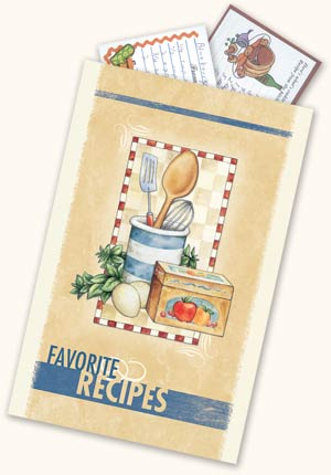 Recipe Pocket Envelopes