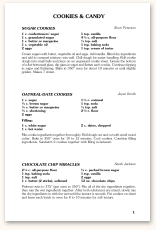 recipe page format f15