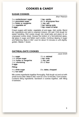 Recipe Page Format F2