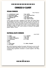 Recipe Page Format F4