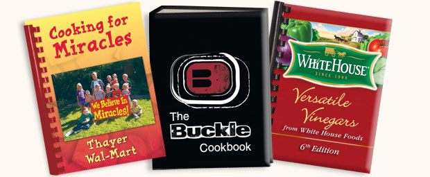 Employee Cookbook Covers