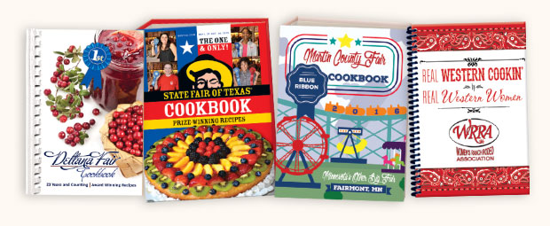 Fair & Rodeo Cookbook Covers