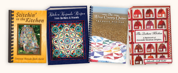 Quilters Cookbook Covers