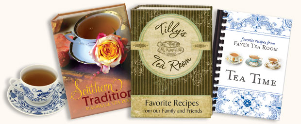 Tea Room Cookbook Covers