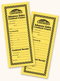 Advance Sales Coupons