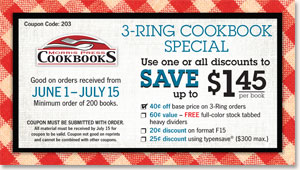 3-Ring Cookbook Special