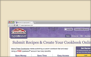 Enter Your Recipes & Save