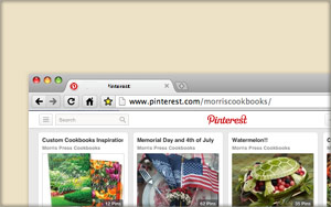 Follow Morris Cookbooks On Pinterest